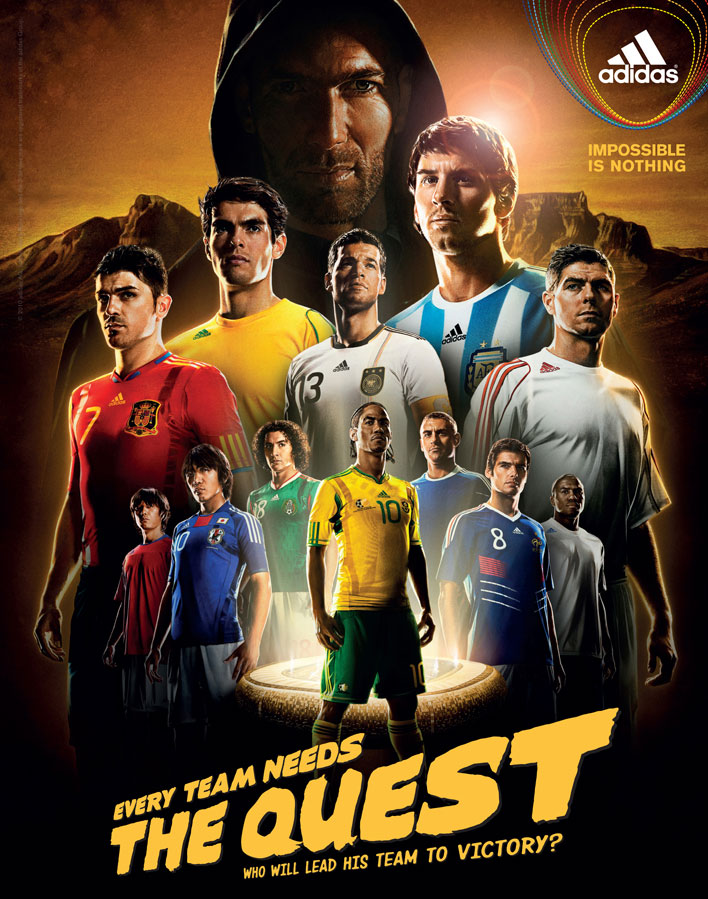 adidas – 2010 World Cup The Matchup